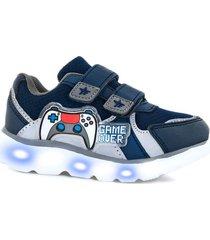 zapatilla azul footy hi joystick 421
