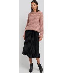 mango catia skirt - black