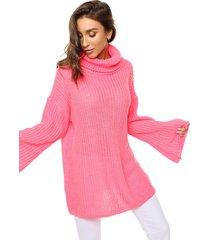 sweater fucsia exotica toki