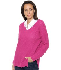 sweater fucsia koxis