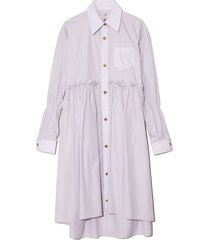 roise shirt dress in grey stripe
