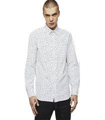 camisa s ven nail shirt blanco diesel