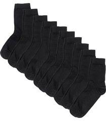 calze basic (pacco da 10 paia) (nero) - bpc bonprix collection