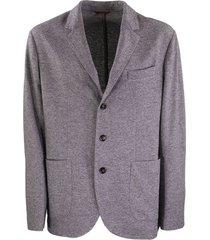 single breasted cashmere blazer