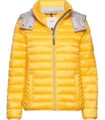 jackets outdoor woven gevoerd jack geel esprit casual