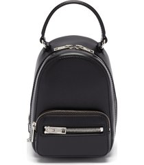 'attica' top handle leather mini backpack