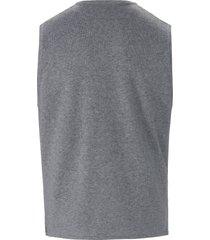 mouwloos vest 100% katoen knoopsluiting van louis sayn grijs