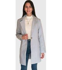 abrigo missguided celeste - calce regular