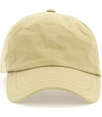 jacquemus baseball cap with logo embroidery