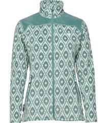 tinnhølen microfleece jacket sweat-shirt tröja grön skogstad