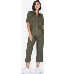 closet short sleeve boiler suit jumpsuits