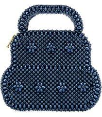 shrimps august mini bag - azul