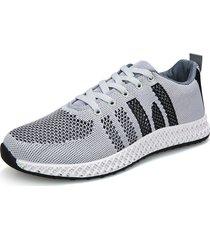 scarpe da ginnastica sportive traspiranti da uomo in mesh traspirante