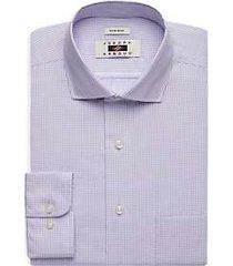 joseph abboud lavender gingham dress shirt