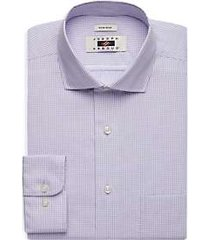 joseph abboud lavender gingham dress shirt