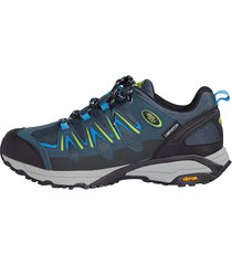 trekkingskor brütting marinblå::blå::citrongul