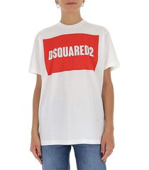 boxed logo cotton t-shirt