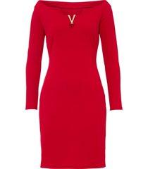 abito con spalle scoperte (rosso) - bodyflirt boutique