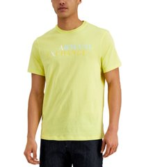 ax armani exchange men's logo graphic t-shirt, created for macy's