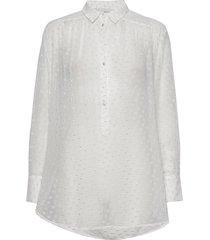 josefine overhemd met lange mouwen wit munthe