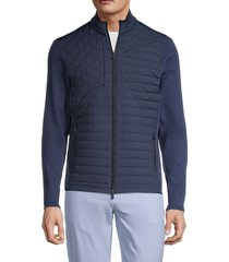 greyson men's yukon hybrid zip-up jacket - eastern - size xl