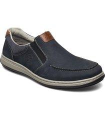 17360-15 loafers låga skor blå rieker