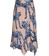 jeez knälång kjol multi/mönstrad munthe