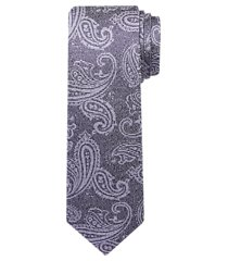 1905 collection muted paisley tie - long clearance