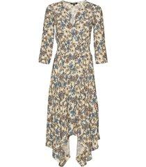 vest dami jurk knielengte multi/patroon desigual