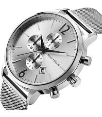 reloj mini focus mf0185g-1 para hombre-plata