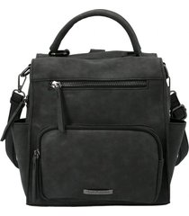 mochila caprii backbag negro hush puppies