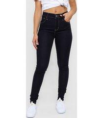 jean levi´s ®720 high rise super skinny performance adv stretch vintage soft indigo atlas