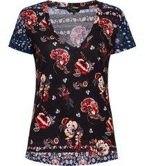 ts antoine blouses short-sleeved svart desigual