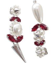 simone rocha pearl & spike earring