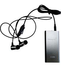 biaural auricular mp3 d-3000 amplificador de sonido sonido audífonos coleccionista