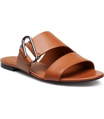 alix - flat sandal shoes summer shoes flat sandals brun 3.1 phillip lim