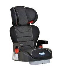 cadeira auto protege reclinável, burigotto, mesclado preto