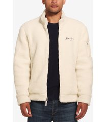 sean john men's fleece bomber jacket