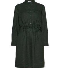 dress woven fabric kort klänning grön gerry weber edition