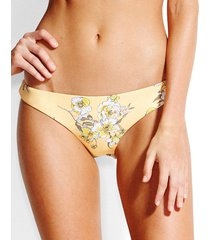 mid summer floral brazilian bikini brief