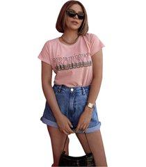 blusa in love t-shirt sonhadora rose