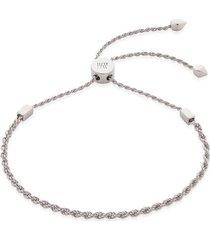sterling silver corda fine chain friendship bracelet