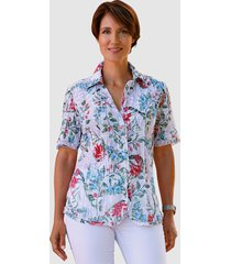 blouse paola wit::rood::groen