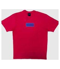 camiseta huf silk deja vu rosa