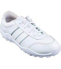 zapatos lineablanca aeroflex blanco unicolor lt1641
