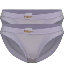 puma micro mesh bikini 2p pack trosa brief tanga lila puma