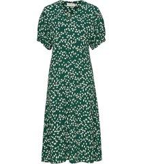 intoilla tuulahdus dress maxi dress galajurk groen marimekko