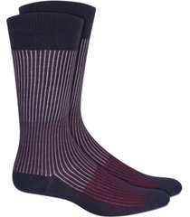 alfani men's colorblocked textured socks, created for macy's