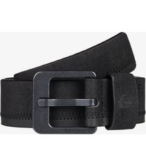 binge faux leather belt