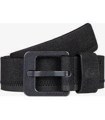 binge faux leather belt